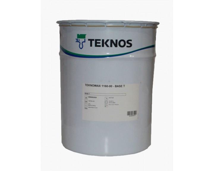 Віск напівпрозорий, водорозчинний, для внутрішніх робіт, для дитячих меблів, панелей/вагонки, тощо TEKNOS TEKNOWAX 1160, 18 л