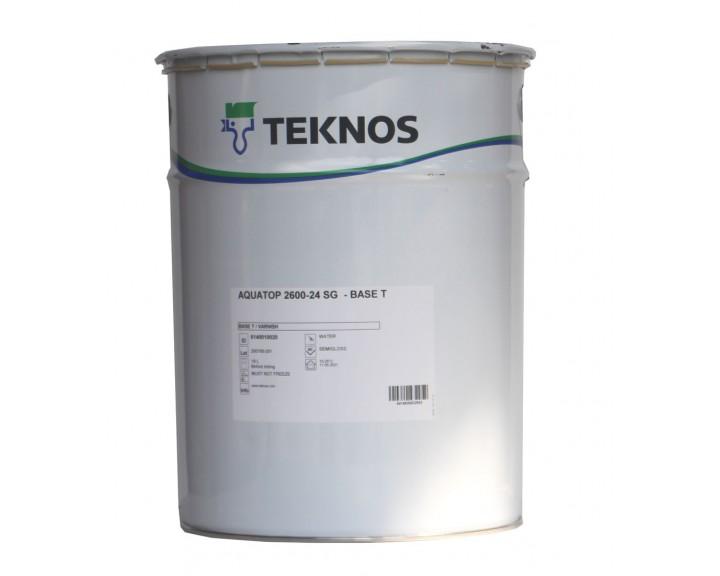 Лак водний , модифікований поліуретаном, фінішний TEKNOS AQUATOP 2600-24, 18 л