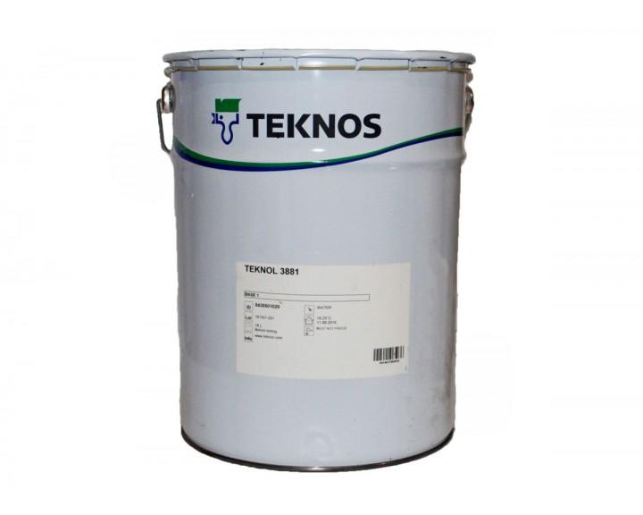 Водорозчинний адгезійний грунт для укривного оздоблення зовнішніх дерев'яних виробів  TEKNOL 3881 , 18 л