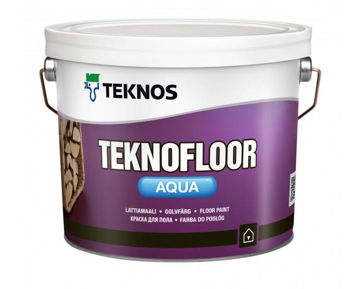 Водорозчинна фарба для підлоги TEKNOS Тeknofloor Aqua (База 3), 0.9 л