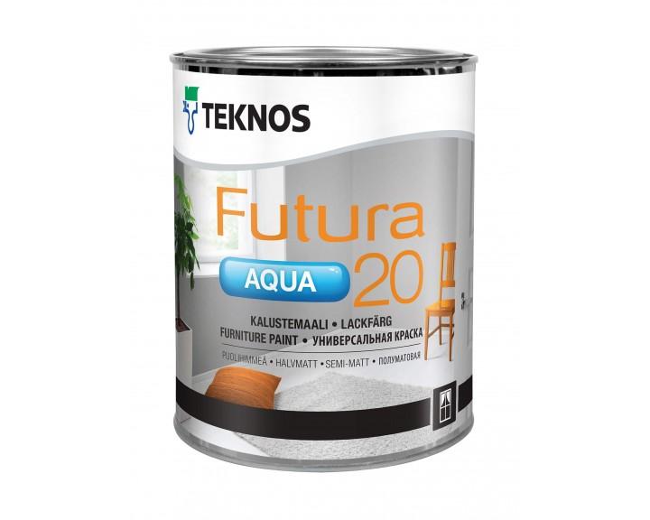 Фарба універсальна TEKNOS Futura Aqua 20 (База 1)
