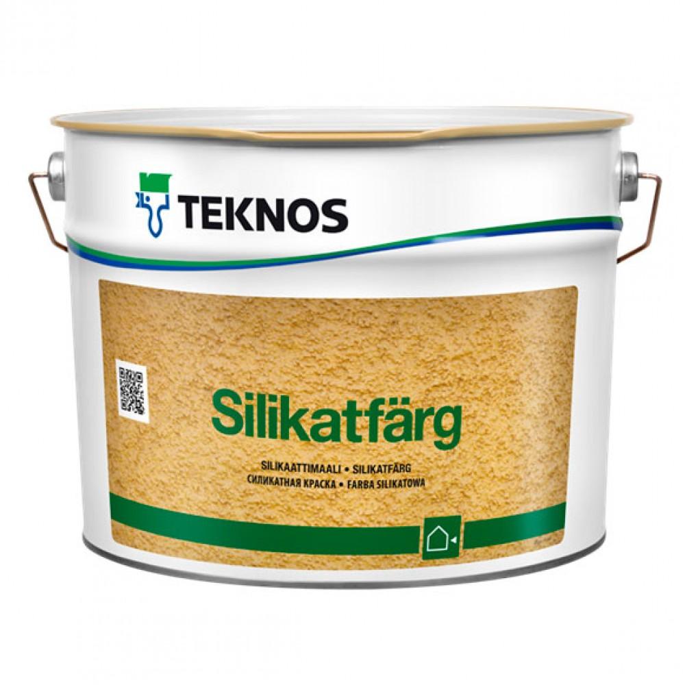 Cиликатная краска SILIKATFÄRG, 2.7 л