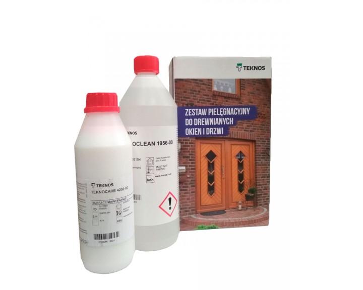 Комплект по догляду за дерев'яними вікнами TEKNOS, 1 к-т