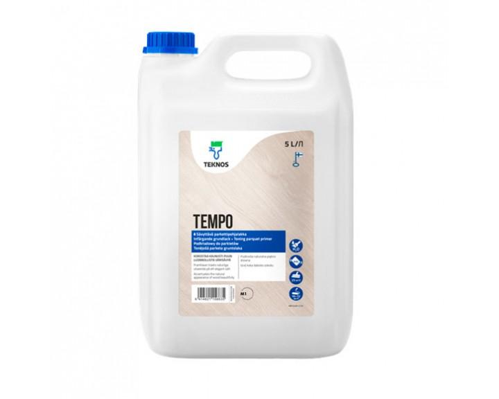 Паркетний грунтовочний лак TEMPO, 5 л