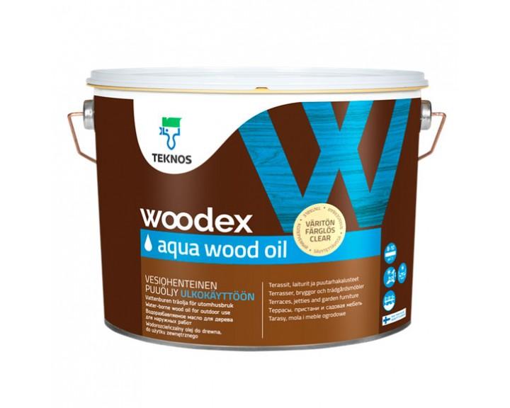 Водорозчинне терасне масло  TEKNOS Woodex Aqua Wood Oil