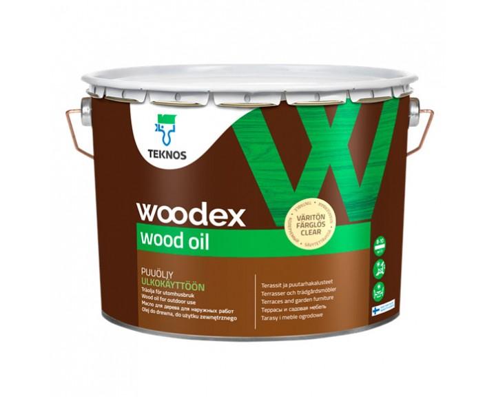 Масло натуральне терасне TEKNOS Woodex Wood Oil
