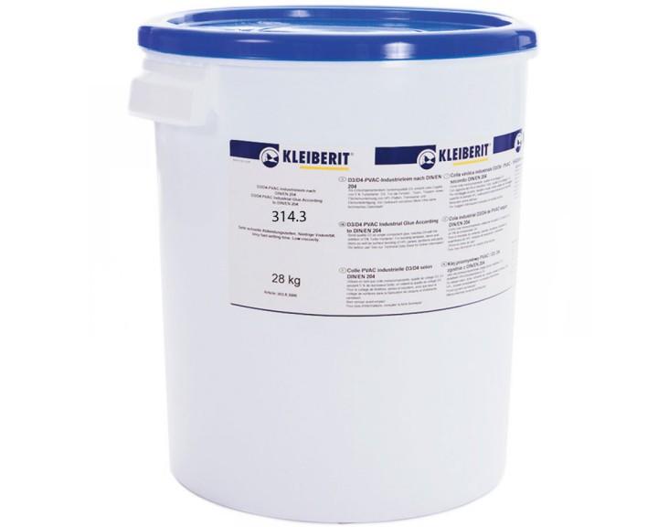 Клей ПВА-дисперсія KLEIBERIT D4314.3, 1 кг